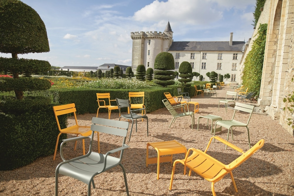 Chaise Luxembourg par Fermob. Photo Tom Watson.