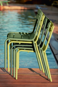 Chaises Luxembourg by Fermob. Photo Tom Watson.