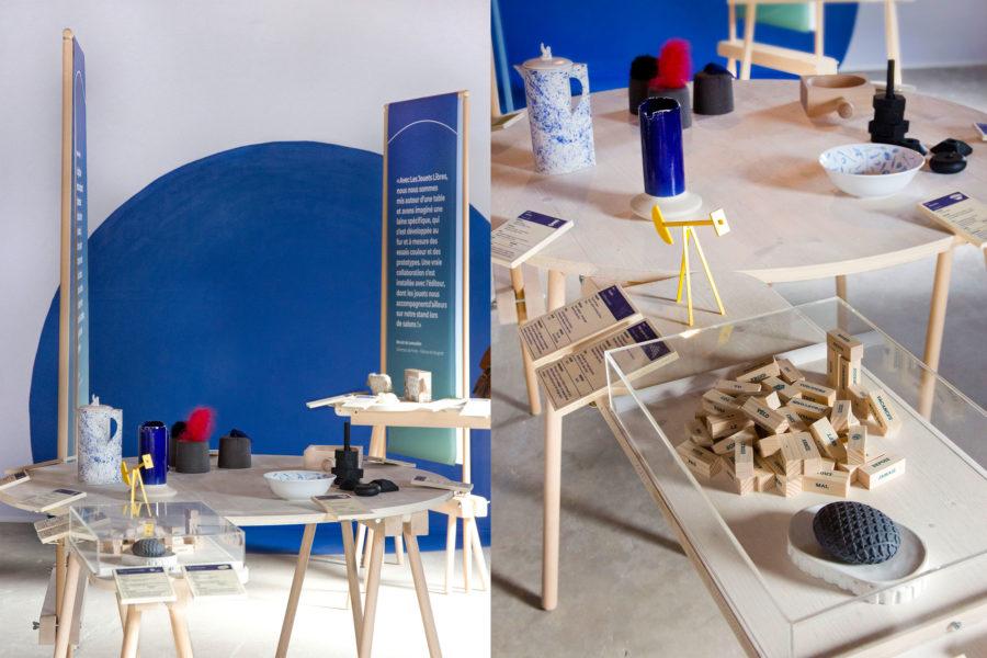 Présentation des objets créés spécialement pour les boutiques des musées du parc naturel régional des Vosges du Nord